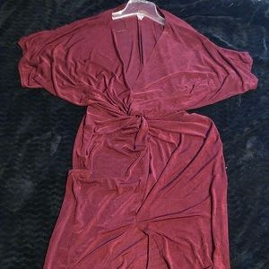 Red knot dress